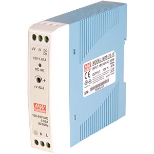 DIN Rail power supply 24V/1A