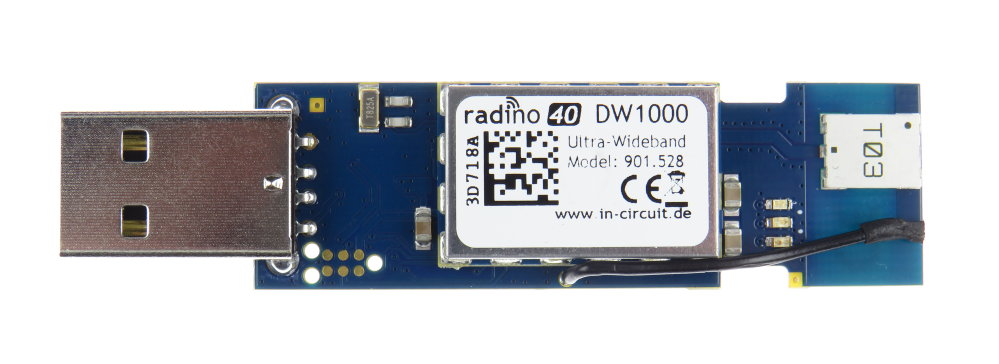 radino40 DW1000 USB-Stick for Ranging and RTLS, Ultra